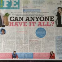 My Times of India Interview on Work-Life Balance